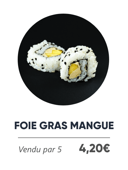Foie Gras Mangue - Japan Burger