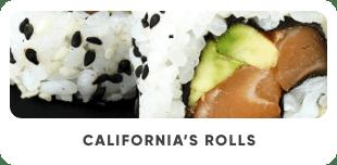 California's Rolls - Japan Burger