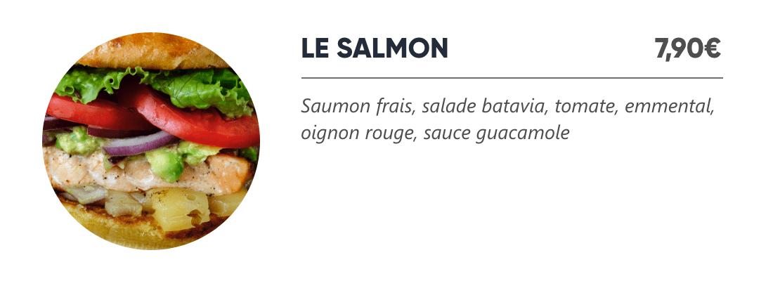 Le Salmon - Japan Burger