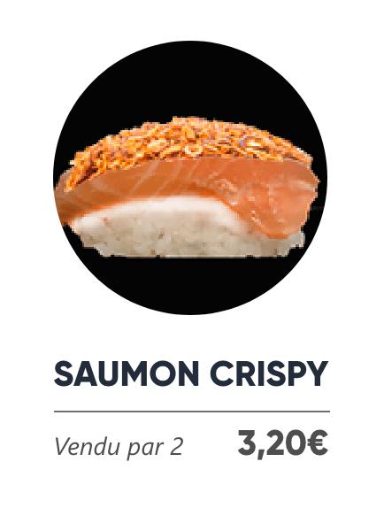 Saumon Crispy - Japan Burger