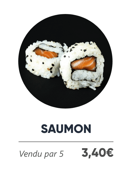 Saumon - Japan Burger
