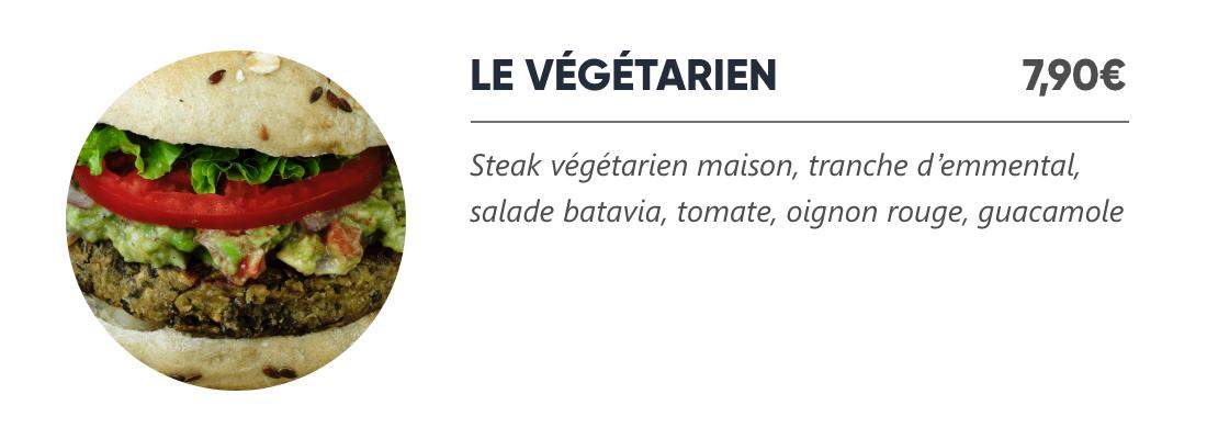 Le Végétarien - Japan Burger